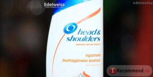 Шампунь от перхоти Head&Shoulders против выпадения волос фото