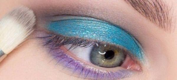 красивый макияж для голубых глаз 3