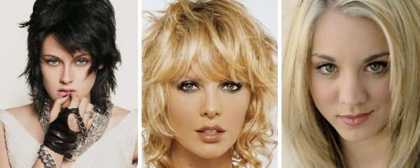 Прическа дебют для средних волос