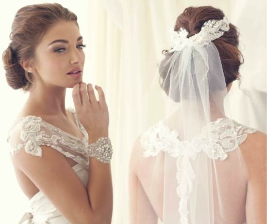 Загадочный образ очаровательной невесты