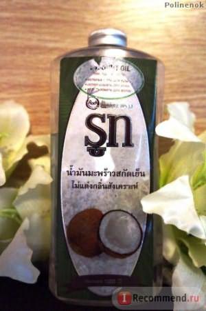 Масло кокосовое SN ,тайское фото