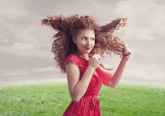 Вьющиеся волосы: рекомендации по уходу