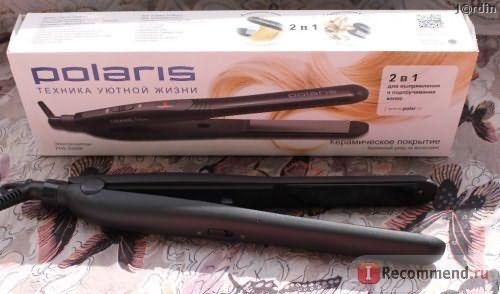 Электрощипци для волос Polaris PHS 2090K