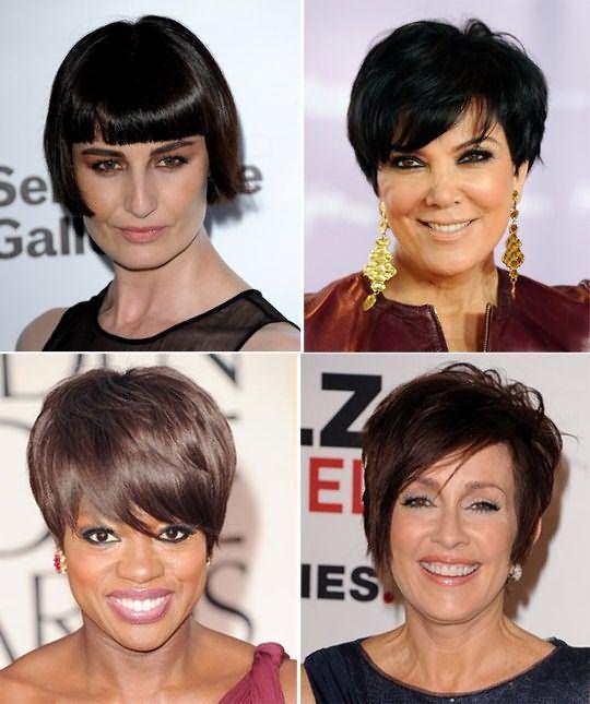 Стрижка асимметрия на длинные волосы не подходит тем, чей возраст отмечен «40+», лучшее решение – стильное пикси