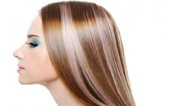 Многоцветная окраска волос