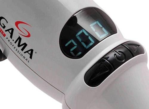 Какая плойка для волос лучше? Та, которая оснащена системой регулировки температуры (фото Ga.Ma Ferro Titanium F21)