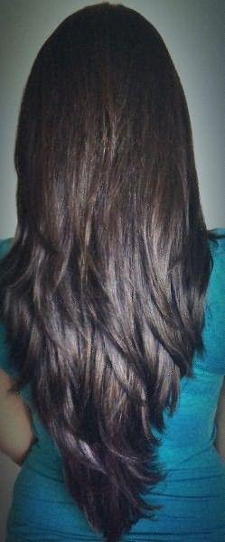 Градуированная причёска