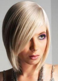 стрижка придающая объем тонким волосам 2