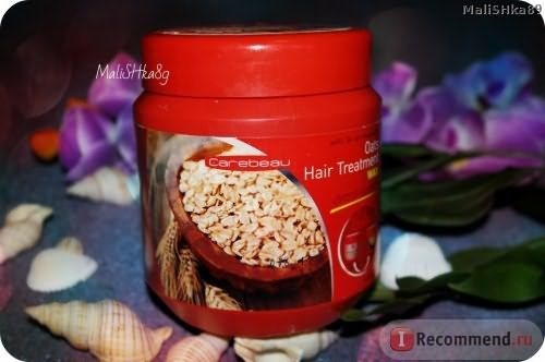 Маска для волос Carebeau с овсом / Oats hair treatment фото