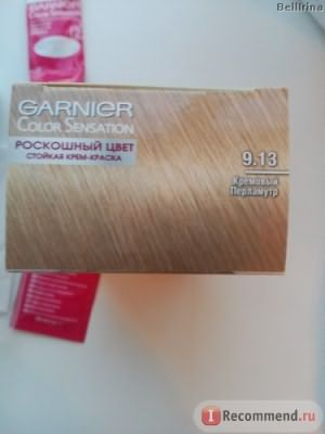 Крем-краска для волос Garnier Color Sensation «Интенсивный цвет». фото