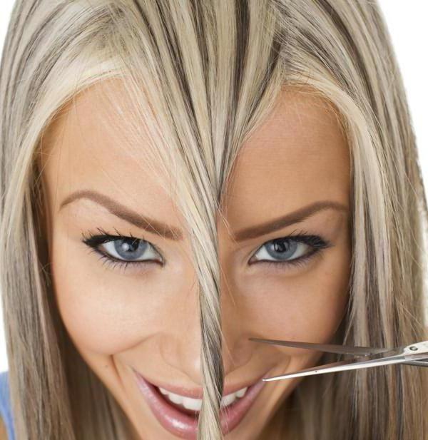 как можно подстричь кончики волос виды