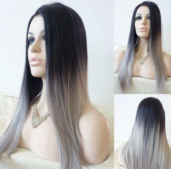 Тёмно-пепельный оттенок волос