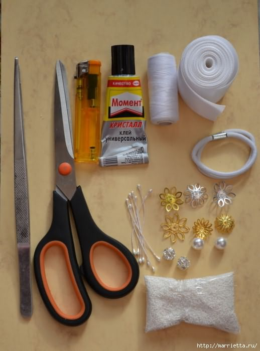 Тсумами-канзаши. Резиночки для волос своими руками (1) (518x700, 226Kb)