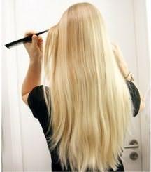 Как сделать бант из волос: шаг 1