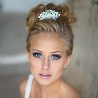 макияж для русых с серо голубыми глазами 7