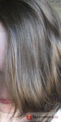 Склеенные волосы
