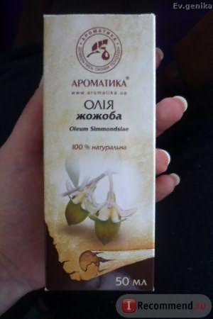 Масло косметическое Ароматика Жирное масло Жожоба фото