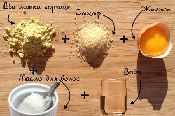 Рецепт домашней маски для волос