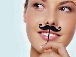 Как обесцветить волосы над губой