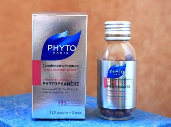 Витамины для волос Phytophanere