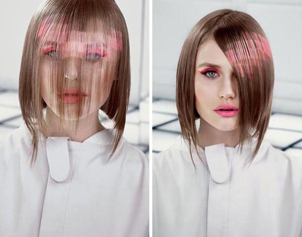 как сделать пиксельное окрашивание волос