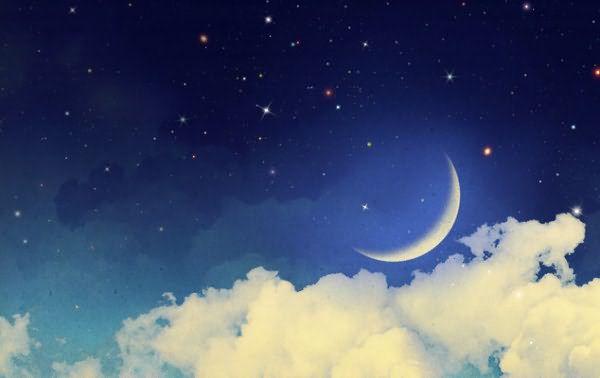 Период растущего месяца можно определить по лунному календарю