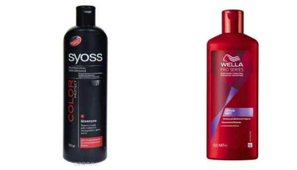 Недорогие шампуни для окрашенных волос