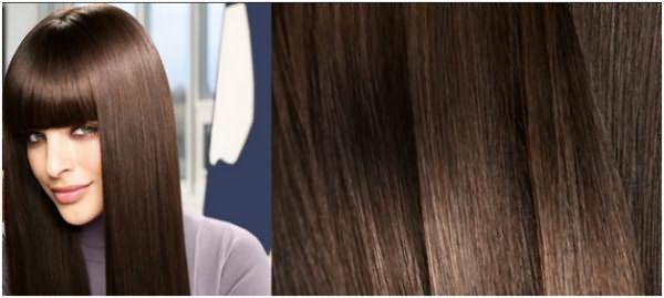 Если все чешуйки отражают свет и лежат ровно, то есть, присутствует видимый глазу блеск – волосы здоровы!