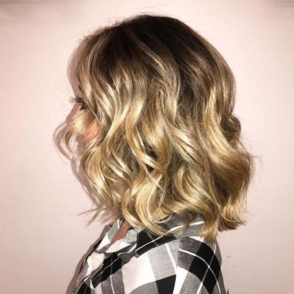 блондинки с темными корнями фото