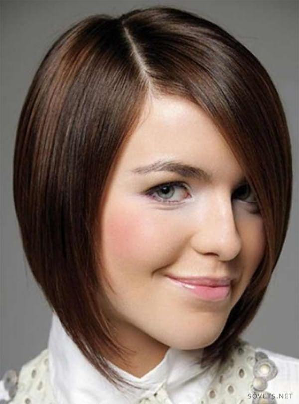 Классическое каре для средних волос