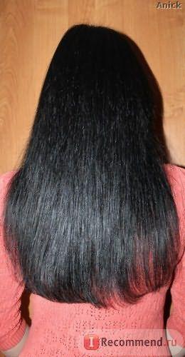 Фото волос после остановки выпадения Пантовигаром