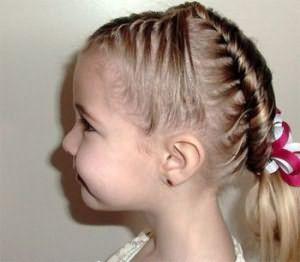 Если выпадают волосы у ребенка в 5 лет, откажитесь от тугих косичек и хвостиков