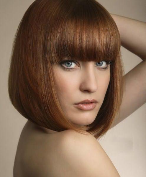 Идеальная стрижка для прямых и густых волос