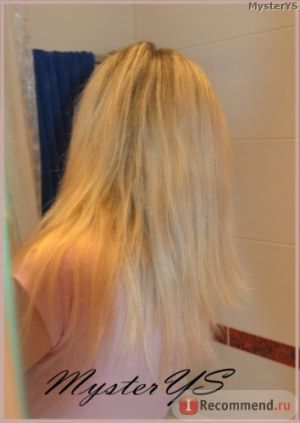 Волосы после масла аргана