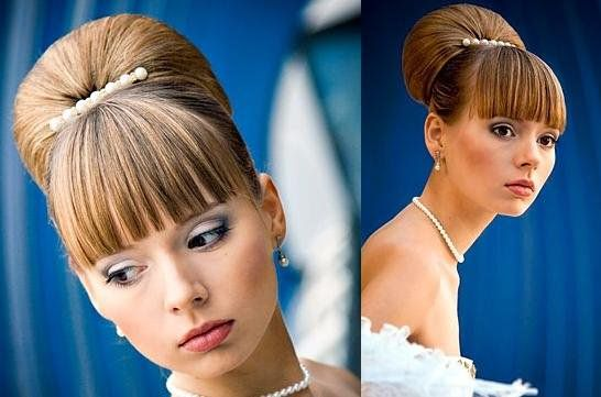 На фото: бабетта – модная прическа в стиле ретро