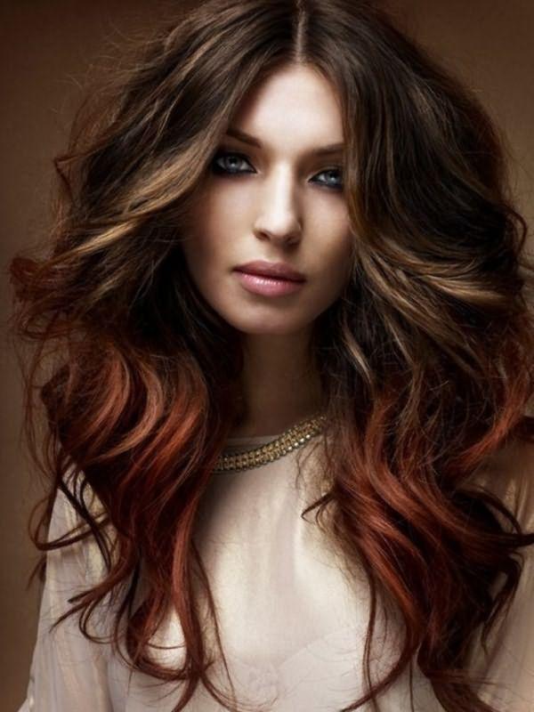 кому идет каштановый цвет волос1