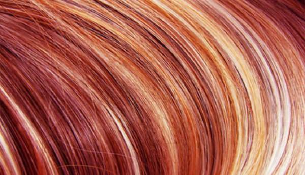 Комбинирование цвета волос