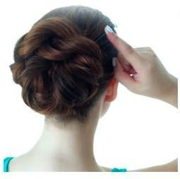 Прическа за 5 минут: пучок из кос