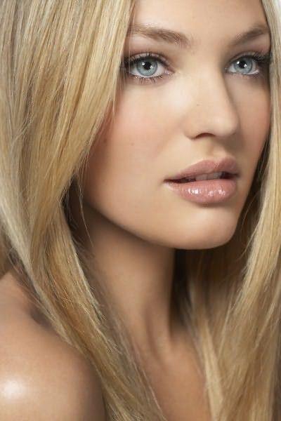 Блондинки будут выигрышно и очаровательно выглядеть с более светлыми бровями