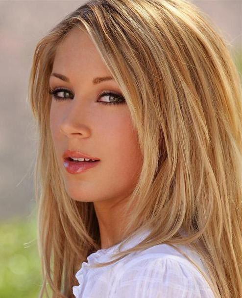 карамельный блонд фото