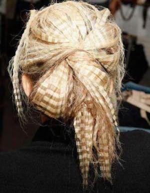 прически гофре на короткие волосы