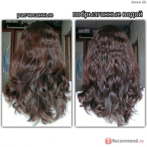Химическая завивка волос фото