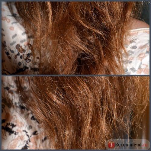 Состояние волос ДО нанесения маски