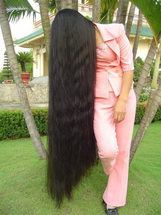 сонник видеть себя с длинными красивыми волосами