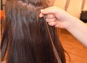Как снять нарощенные волосы 3
