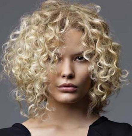 как красиво накрутить короткие волосы