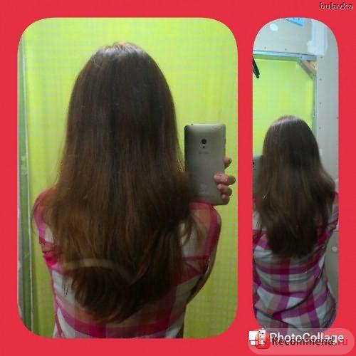 Волосы практически сразу после окрашивания краской