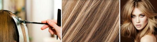 Мелированные волосы после тонирования