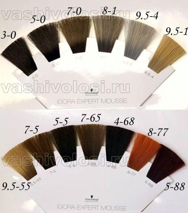 Покрасить хной седые волосы