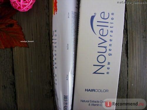 Крем-краска для волос Nouvelle Hair Color